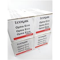 Lot of 4 NEW Genuine OEM Lexmark 13T0301 Black Toner Cartridge