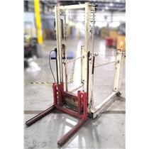 Hydraulic High Lift Automotive Dual Wheel Dolly - Bottom Air Leak For PARTS ONLY