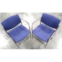 Lot of Two Steelcase 475412M Office Chair Purple - LOCAL PICKUP ONLY