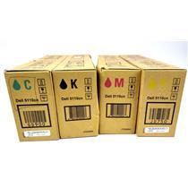 Dell 5110CN OEM Genuine SET Black Cyan Magenta Yellow Toner CT200840/41/42/43