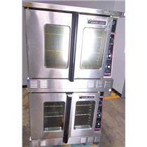 Garland Master 200 Full CO Double Deck Commercial Grade Gas Oven - UNTESTED