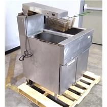 Dean CFD150GN/MC High Performance Natural Gas Deep Fryer Dump Station