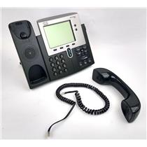 Cisco 7900 Serie CP-7942 Unified IP Phone VoIP Office Telephones - WORKING
