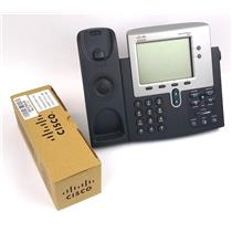 Cisco 7900 Serie CP-7941 Unified IP Phone VoIP Office Telephones - WORKING