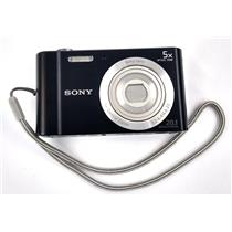 Sony Cyber-shot DSC-W800 20.1MP Digital Camera 720P 5x Zoom Black