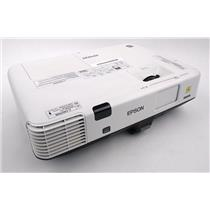 Epson H471A PowerLite 1945W WXGA 3LCD Projector 1495 Lamp Hrs TESTED & WORKING