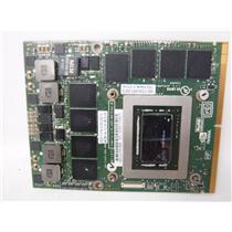 DELL ALIENWARE  M18x R1 2GB Nvidia GeForce GTX580M 03MF8R VIDEO CARD
