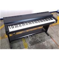 Yamaha Clavinova CLP-300 Piano With Legs Black - TESTED & WORKING