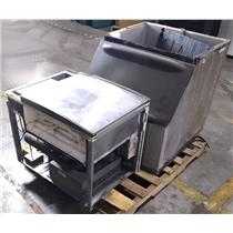 Manitowoc Ice SD0452A Ice Maker with Ice Storage Bin - FOR PARTS OR NOT WORKING