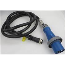 IBM / Lenovo 40K9615 DPI 60A Black 14 Foot Power Cord / Cable IEC 309 2P+G