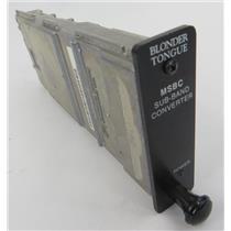Blonder Tongue MSBC 7727 HE12 & HE4 Series Sub-Band Block Up-Converter - WORKING
