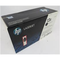NEW Genuine HP 13X Q2613X High Yield Black Original LaserJet Toner Cartridge