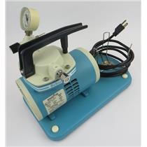 Schuco Inc Schuco Vac Model S130 Oil-Less Vacuum Aspirator Suction Pump 115V
