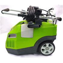 Greenworks 51012 1700PSI 13Amp 11.72MPa Pressure Washer w Hose Compact Design