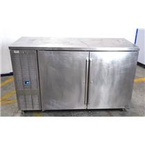 """Perlick BBS60-RO 60"""" Two Doors Refrigerated Self-Contained Cooler WORKING"""