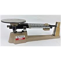 Ohaus 700 800 Series Triple Beam Balance 2610 EUC - Tested & Working