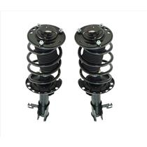 (2) FRONT Complete Coil Spring Struts For 03-05 SAAB 9-3 2.0L Turbo Only