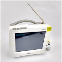 Philips Intellivue MP30 M8002A Wireless Portable Patient Monitor w/ Printer