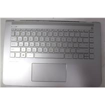 HP Pavilion-14-bk061st Palmrest Assembly w/ Keyboard+Touchpad
