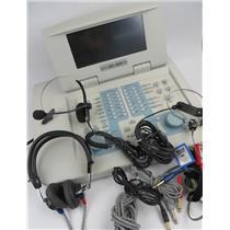 Grason Stadler GSI 61 2-Channel Clinical Audiometer REF 1761-97XX W/ Accessories
