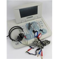 Grason Stadler GSI 61 2-Ch Clinical Audiometer REF 1761-97XX W/ Headsets & More