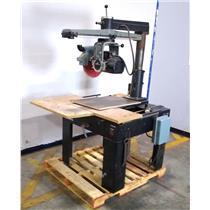 Delta 33-401 Heavy Duty Industrial Radial Arm Saw 230V 13A 3450RPM UNTESTED