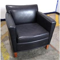 Mick Lounge Chair Side Futon w/ Faux Sure Black 2880-803 LOCAL PICKUP ONLY