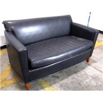 Mick Lounge Chair Main Futon w/ Faux Sure Black 2880-803 LOCAL PICKUP ONLY