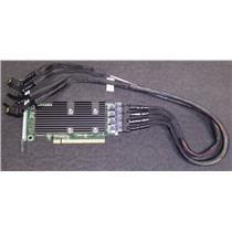 Dell PCIe Extender SAS Controller Adapter 4 Mini SAS Connector High Pro P31H2