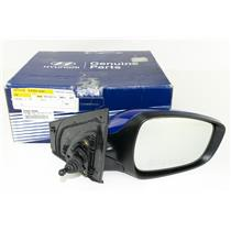 OEM 2012-17 ACCENT RH Passengers Manual Remote Side View Mirror BLUE 87620-1R200