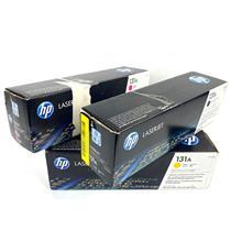Lot of 4 New Genuine HP 131A Toner Cartridges CF210A CF213A CF212A