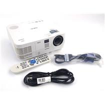 NEC NP-VE281X DLP 3D Ready Projector 2800 Lumens VGA HDMI 2479 Lamp Hrs WORKING