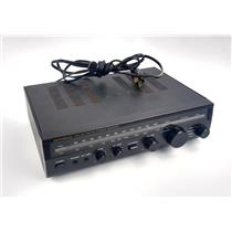Vintage Optimus STA-20 AM/FM Stereo Receiver MPN 31-1979 Minor Defect - WORKING