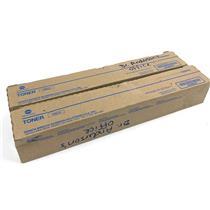 Lot Of 2 New Genuine Konica Minolta TN513 Black Toner Cartridges
