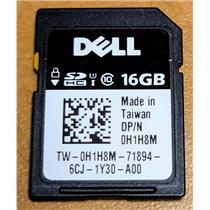 Dell 37D9D 7GH0Y H1H8M JPVHW 583VN 16GB vFLASH Class 10 SD Card