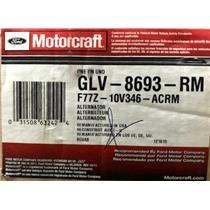 F77Z-10V346-AC for Ford Motorcraft GLV-8693-RM Alternator Assembly