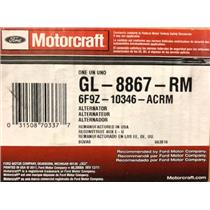 6F9Z-10346-AC for Ford Motorcraft GL-8867-RM Alternator Assembly