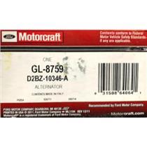 D2BZ-10346-A for Ford Motorcraft GL-8759 Alternator Assembly
