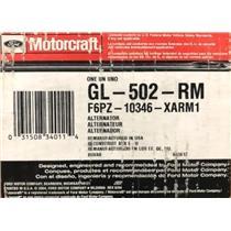 F6PZ-10346-XA for Ford Motorcraft GL-502-RM Alternator Assembly