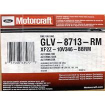 XF2Z-10V346-BB for Ford Motorcraft GLV-8713-RM Alternator Assembly