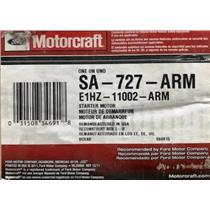 E1HZ-11002-A for Ford Motorcraft SA-727-ARM Starter Motor Assembly
