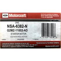 G2MZ-11002-AD for Ford Motorcraft NSA-6382-N Starter Motor Assembly