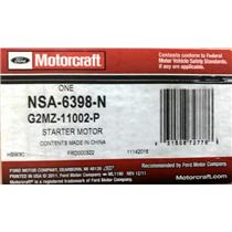 G2MZ-11002-P for Ford Motorcraft NSA-6398-N Starter Motor Assembly