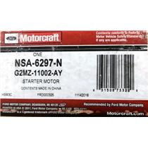 G2MZ-11002-AY for Ford Motorcraft NSA-6297-N Starter Motor Assembly