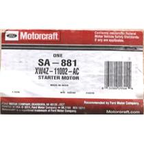 XW4Z-11002-AC for Ford Motorcraft SA-881 Starter Motor Assembly
