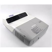 Epson 455Wi BrightLink WXGA Ultra Short-Throw Projector H440A 155 Hours WORKING
