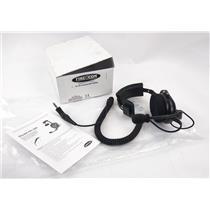 New Firecom FH-10S Single Ear Over-Head Style Radio Transmit Headset
