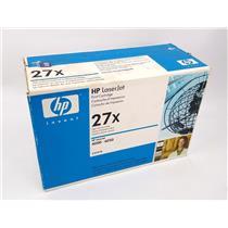 NEW Genuine HP 27x C4127X Black Toner Cartridge HP Laserjet 4000 4050
