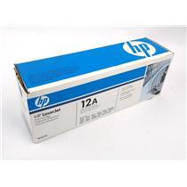 NEW Genuine HP 12A Q2612A Black Toner Cartridge HP Laserjet 1010 1012 READ DESC