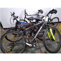 Lot of 5 Bicycles Bikes Roadmaster Huffy Rhino Genesis READ DESCRIPTION
